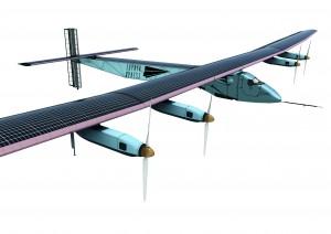 Création d'un partenariat fictif entre La Poste & Solar Impulse afin de redistribuer le courrier écologiquement.