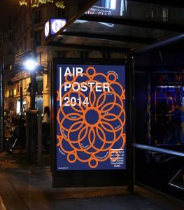 """Création de l'affiche Air Poster 2014 dans le style de """"Des Signes""""."""
