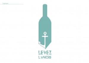 Création de l'identité visuelle d'une cave à vin qui fait vieillir son vin dans les profondeurs sous-marines du Bassin d'Arcachon. Projet libre de fin d'année.